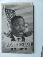 Martin Luther King I Have A Dream - Historische Figuren