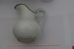 B/ Broc à Eau Aiguilère Pichet Porcelaine De Paris Epaisse Hauteurcm - Unclassified