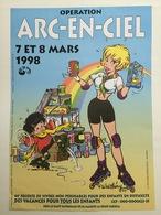 Affiche Natacha Walthery Opé Arc En Ciel - Sérigraphies & Lithographies