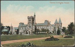 Toronto University, Toronto, Ontario, 1912 - Valentine's Postcard - Toronto