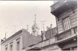 VISTA TRASERA CUPULA IGLESIA ORTODOXA RUSA SAN TELMO BUENOS AIRES FOTOS PHOTOS ORIGINAL SIZE 17x11 CM.- BLEUP - Places