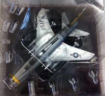 Maquette Neuve 1/43 North American F 100 D Super Sabre + Fascicule Métal Montée Peinte Sous Blister Avec Son Fascicule - - Airplanes & Helicopters