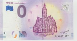 Billet Touristique 0 Euro Souvenir Slovaquie - Kosice 2018-1 N°EEAD001897 - EURO