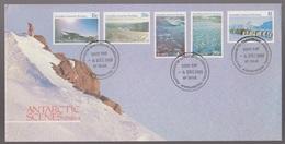 1985 Australia AAT Australian Antarctic Scenes Series 11 MAWSON Base Cancel FDC - FDC