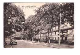 94 Saint Mandé Avenue De La Pelouse Cpa Vieille Voiture Auto Automobile Cachet St Mandé 1938 - Saint Mande