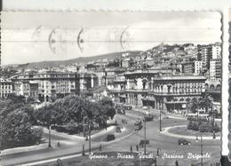 GENOVA,PIAZZA VERI STAZIONE BRIGNOLE-VIAGGIATA.1955-FG.-193.T - Genova (Genoa)