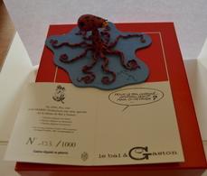 PIXI MPGA3751 GASTON DEGUISE EN PIEUVRE NEUF DANS SA BOITE D'ORIGINE CERTIFICAT 193/1000 - Figurines