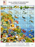 Palau - 2006 - World Of Sea And Reefs - Washington 2006 World Philatelic Exhibition - Mint Souvenir Sheet - Palau
