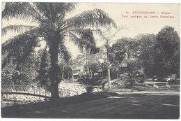 Cpa Cochinchine – Saïgon – Pont Rustique Au Jardin Botanique  ( Vietnam ) - Viêt-Nam