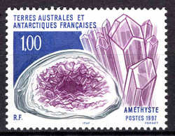 TAAF - 1997 -  Améthyste  - N° 213 - Neuf **   - MNH - Terres Australes Et Antarctiques Françaises (TAAF)