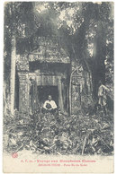 Cpa Cochinchine – Angkor Thom - Porte Est Du Kedef - Cambodge