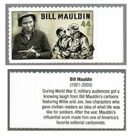 Verenigde Staten USA 2010 Willie And Joe (Bill Mauldin) - United States