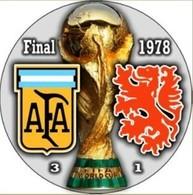 PIN FIFA WORLD CUP FINAL 1978 ARGENTINA Vs NETHERLANDS - Fútbol