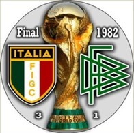 PIN FIFA WORLD CUP FINAL 1982 ITALY Vs GERMANY - Fútbol