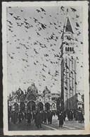VENETO - VENEZIA - PIAZZA SAN MARCO - FORMATO PICCOLO - ED. SCROCCHI - VIAGGIATA 1933 FRANCOBOLLO ASPORTATO - Venezia