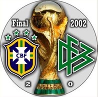 PIN FIFA WORLD CUP FINAL 2002 BRAZIL Vs GERMANY - Fútbol