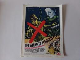 """Publicité """" Les Amants Maudits """" Film De Willy Rozier - Cinema Advertisement"""