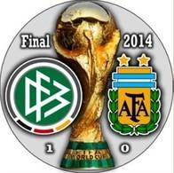 PIN FIFA WORLD CUP FINAL 2014 GERMANY Vs ARGENTINA - Fussball