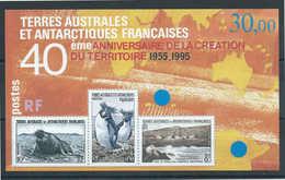 TAAF - 1995 - Anniversaire De La Création Du Territoire  - Bloc N° 2  - Neuf ** - MNH - Blocs-feuillets