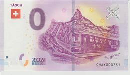Billet Touristique 0 Euro Souvenir Suisse - Tasch 2018-3 N°CHAX000751 - Private Proofs / Unofficial