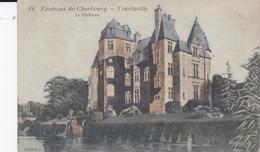 CHERBOURG ENVIRONS 50 MANCHE TOURLAVILLE LE CHATEAU  BELLE CARTE RARE !!! - Cherbourg