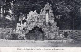 Herve Collège Marie-Thérèse Circulée En 1911 - Herve