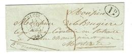 LOIR ET CHER 41 BLOIS LAC TAD 13 15/11/1835 Décime Rural Et Taxe 5  TTB - 1801-1848: Précurseurs XIX