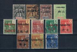 Französische Indochina Yunnansen - Yunnan-Fou Kleines Lot Ungebraucht * + Gestempelt - Yunnanfou (1903-1922)