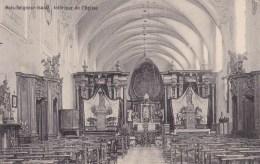 Bois-Seigneur-Isaac Intérieur De L'Eglise Circulée En 1913 - Braine-l'Alleud