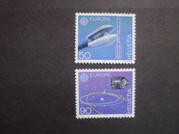 Schweiz     Europäische Weltraumfahrt  Europa  Cept  1991   ** - 1991