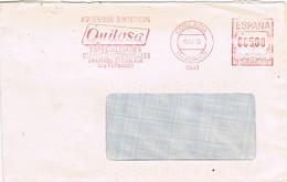 29217. Carta COSLADA (Madrid) 1978. Franqueo Mecanico QUILOSA, Quimico Industrial - 1931-Hoy: 2ª República - ... Juan Carlos I
