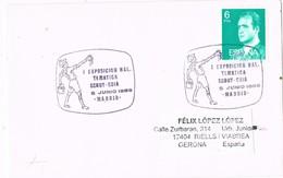 29218. Carta MADRID 1986. Tematica SCOUT Y GUIA - 1931-Hoy: 2ª República - ... Juan Carlos I