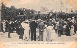 88 - Epinal - Courses Vélocipédiques Du 7 Juin 1903 - Sublime Animation De Distribution Des Récompenses - Epinal