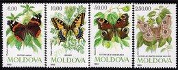 Moldova - 1993 - Butterflies - Mint Stamp Set - Moldavië