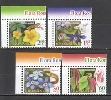 M405 2012 ROMANIA FLORA NATURE FAUNA FLOWERS 1SET MNH - Plants