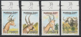 Burkina Faso 1997 Mi. 1449 - 1452 Faune Burkinabé Fauna Wildlife RARE 4 Val. ** - Postzegels