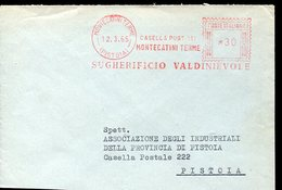 35885 Italia,  Red Meter/freistempel/ema/1965 Montecatini Terme Sugherificio Valdinievole - Affrancature Meccaniche Rosse (EMA)
