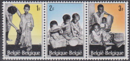 Belgique N° 1410 - 1411 - 1412 *** Campagne Européenne En Faveur Des Réfugiés - 1967 - Belgique