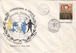 ORGANIZATIONS, UNICEF, CHILDRENS WELFARE, INTERNATIONAL YEAR OF THE CHILD, SPECIAL COVER, 1979, ROMANIA - UNICEF