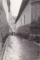 CALLE ADOQUINES. LA PAZ-BOLIVIA SIZE 18x12cm CIRCA 1962-TBE- BLEUP - Places