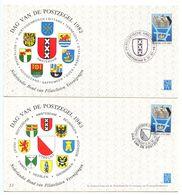 Netherlands 1982-83 2 Dag Van De Postzegel / Stamp Day Covers - Period 1980-... (Beatrix)