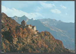 Liechtenstein, Castle Of Vaduz. - Liechtenstein