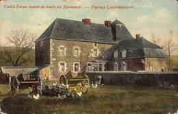 Vieille Ferme Datant Du Temps Des Normands - Paysage Luxembourgeois (dos Nu) - Hotton