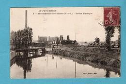 71 Saone Et Loire Montchanin Les Mines Station Electrique - France