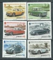 Jersey  N° 1213 / 18  XX  Automobiles Abciennes ( IV ) ,  Les 6 Valeurs  Sans Charnière, TB - Jersey