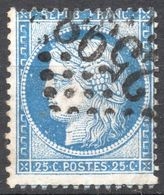 CERES IIIème REP. N° 60B  BLEU OB. GC 2598 NANCY NOMBREUSE VARIETES  COTE > 50 € - 1871-1875 Ceres