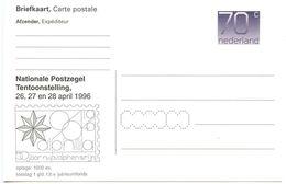 Netherlands 1996 Mint 70c. Postal Card Alphilia National Stamp Exhibition - Postal Stationery