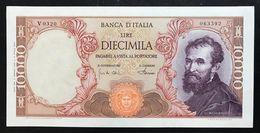 10000 Lire Michelangelo 04 01 1968 Sup  LOTTO 1913 - [ 2] 1946-… : Republiek