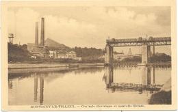 Montigny-le-Tilleul NA13: Centrale électrique Et Nouvelle Ecluse - Montigny-le-Tilleul