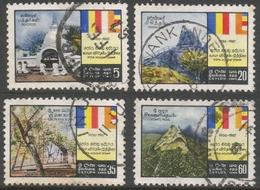 Ceylon. 1967 Poya Holiday System. Used Complete Set. SG 521-524 - Sri Lanka (Ceylon) (1948-...)